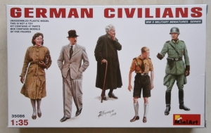 MINIART 1/35 35086 GERMAN CIVILIANS