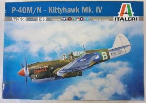 ITALERI 1/48 2658 P-40M/N KITTYHAWK Mk.IV