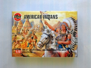 AIRFIX 1/72 01708 AMERICAN INDIANS