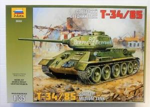 ZVEZDA 1/35 3533 T-34/85