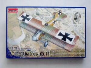 RODEN 1/72 006 ALBATROS D.II