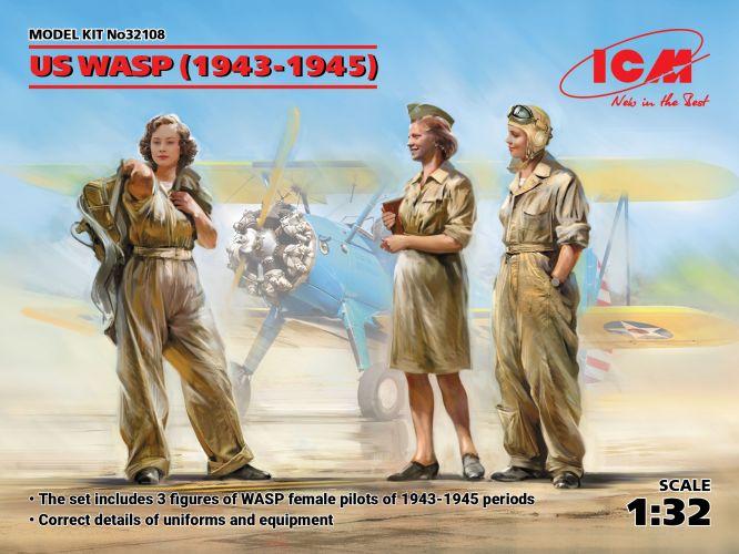 ICM 1/32 32108 US WASP  1943-1945
