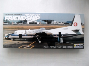 DOYUSHA 1/144 FOKKER F27 FRIENDSHIP