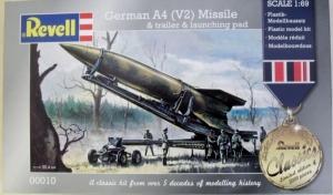 REVELL  00010 GERMAN A4  V2  MISSILE 1/69