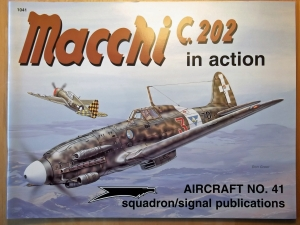 SQUADRON/SIGNAL AIRCRAFT IN ACTION  1041. MACCHI C.202