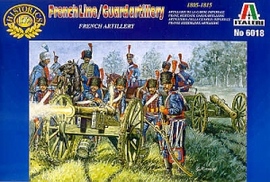 ITALERI 1/72 6018 FRENCH LINE/GUARD ARTILLERY