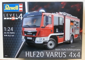 REVELL 1/24 07452 MAN TGM/SCHLINGMANN HLF20 VARUS 4x4  UK SALE ONLY