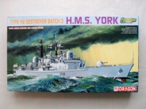 DRAGON 1/700 7055 HMS YORK TYPE 42 BATCH 3 PREMIUM EDITION