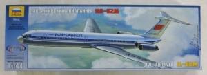 ZVEZDA 1/144 7013 CIVIL AIRLINER IL-62M