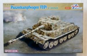DRAGON 1/35 6797 Sd.Kfz.181 PANZERKAMPFWAGEN VI P  w/ZIMMERIT
