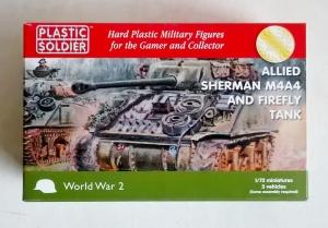 PLASTIC SOLDIER 1/72 WW2V20015 ALLIED SHERMAN M4A4   FIREFLY TANK