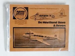 RAREPLANE 1/72 DE HAVILLAND DOVE   DEVON