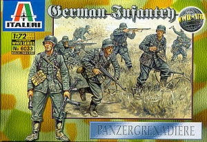 ITALERI 1/72 6033 WWII GERMAN INFANTRY