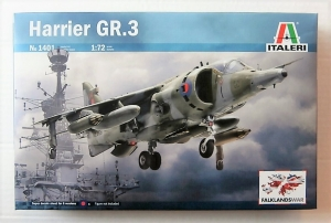 ITALERI 1/72 1401 HARRIER GR.3 FALKLANDS WAR