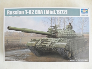 TRUMPETER 1/35 01556 RUSSIAN T-62 ERA  Mod.1972