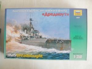 ZVEZDA 1/350 9039 HMS DREADNOUGHT