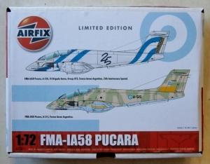 AIRFIX 1/72 77611 FMA-IA58 PUCARA