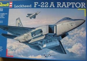 REVELL 1/72 04386 LOCKHEED F-22A RAPTOR