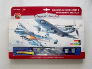 AIRFIX 1/72 93141 SPITFIRE Mk.IX   MESSERSCHMITT Bf 110 C/D