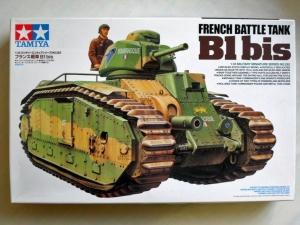 TAMIYA 1/35 35282 FRENCH BATTLE TANK B1bis