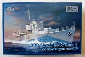 IBG MODELS 1/700 70001 ORP SLAZAK 1943 HUNT II CLASS DESTROYER ESCORT