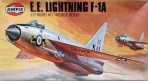 AIRFIX 1/72 02010 EE LIGHTNING F-1A