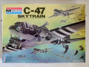 MONOGRAM 1/48 5603 C-47 SKYTRAIN