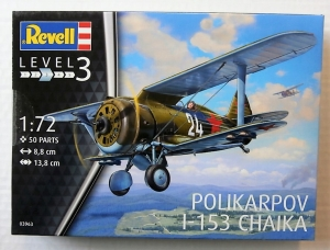REVELL 1/72 03963 POLIKARPOV I-153 CHAIKA