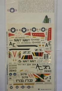 ESCI  1012. L.T.V. A-7 CORSAIR II