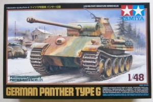 TAMIYA 1/48 32520 GERMAN PANTHER TYPE G