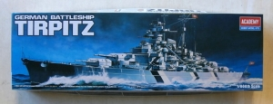 ACADEMY  14211 GERMAN BATTLESHIP TIRPITZ 1/800