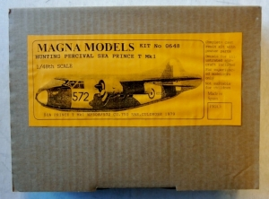 MAGNA 1/48 0648 HUNTING PERCIVAL SEA PRINCE  NO DECALS