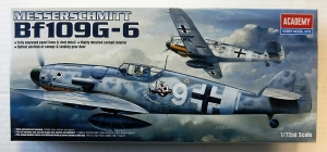 ACADEMY 1/72 12467 MESSERSCHMITT Bf 109G-6