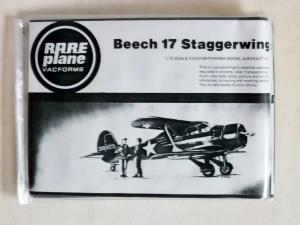 RAREPLANE 1/72 BEECH 17 STAGGERWING