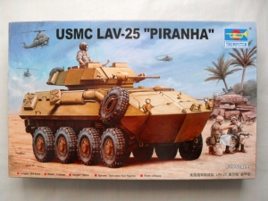 TRUMPETER 1/35 00349 USMC LAV-25 PIRANHA