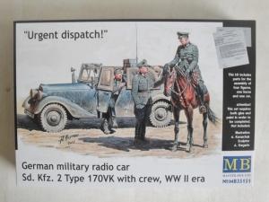 MASTERBOX 1/35 35151 Sd.Kfz.2 TYPE 170VK w/CREW WWII