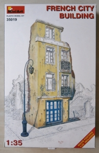 MINIART 1/35 35019 FRENCH CITY BUILDING