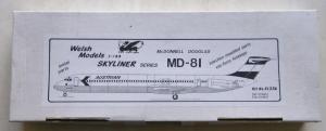 WELSH MODELS 1/144 SL37A McDONNELL DOUGLAS MD-81 AUSTRIAN