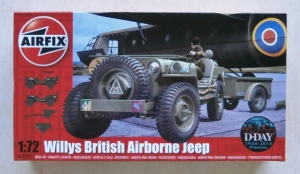 AIRFIX 1/72 02339 WILLYS BRITISH AIRBORNE JEEP