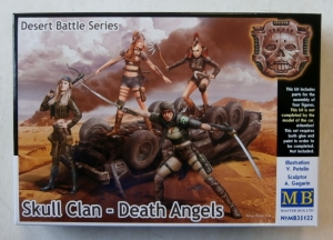 MASTERBOX 1/35 35122 SKULL CLAN - DEATH ANGELS