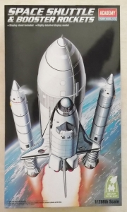 ACADEMY  12707 SPACE SHUTTLE   BOOSTER ROCKETS 1/288