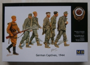 MASTERBOX 1/35 3517 GERMAN CAPTIVES 1944