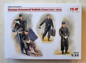 ICM 1/35 35614 GERMAN ARMOURED VEHICLE CREW  1941-42