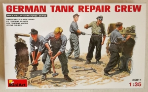 MINIART 1/35 35011 GERMAN TANK REPAIR CREW
