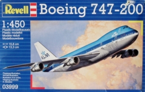 REVELL  03999 BOEING 747-200 1/450