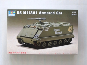 TRUMPETER 1/72 07238 US M113A1 ARMOURED CAR