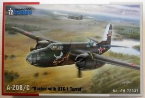 SPECIAL HOBBY 1/72 72337 A-20B/C BOSTON WITH UTK-1 TURRET