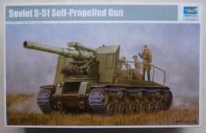 TRUMPETER 1/35 05583 SOVIET S-51 SELF-PROPELLED GUN