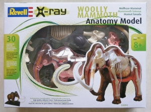 REVELL  02092 WOOLY MAMMOTH ANATOMY MODEL 1/22