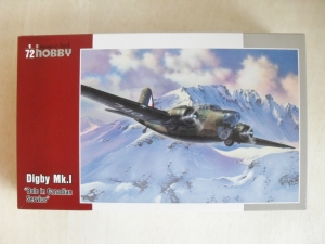 SPECIAL HOBBY 1/72 72251 DIGBY Mk.I BOLO IN CANADIAN SERVICE